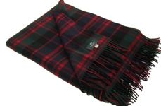 a clan Donald travelling rug to sit on. its what i remember from the 80s anyway