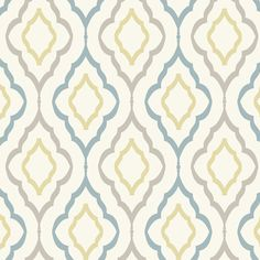 Shop Wayfair for York Wallcoverings Candice Olson Inspired Elegance Diva Geometric Wallpaper - Great Deals on all Decor products with the best selection to choose from!