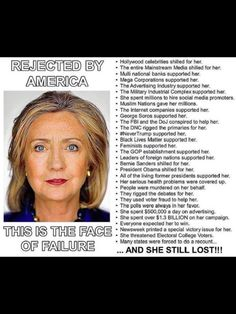 And the face of an undeniable traitor .High accountability matters and is LONG overdue! Conservative Quotes, Conservative Politics, Political Quotes, Political Memes, Bill And Hillary Clinton, Crooked Hillary, Liberal Logic, Democratic Party, Hollywood Celebrities