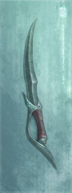 Sinaa's Dagger by Aikurisu on DeviantArt
