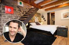 Three years ago this actor was on the verge of bankruptcy. Then he turned his own home into a big money-maker.