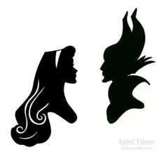 Sleeping Beauty and Maleficent