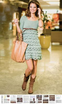 He encontrado este interesante anuncio de Etsy en https://www.etsy.com/es/listing/163363844/crochet-party-dress-pattern-crochet