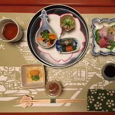 And so it begins #Kyoto #Sakura #kaiseki by linkedstories