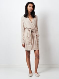Soft Goat Cashmere Bathrobe SS16 Collection