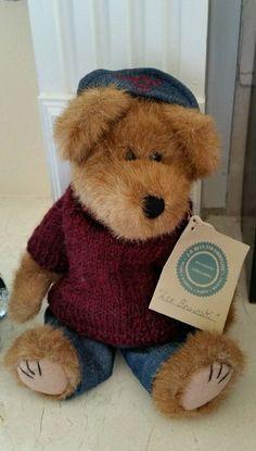 "Boyds Investment Series ""Leo Bruinski"" Bear Boy Girl Women Teddy #AllOccasion"