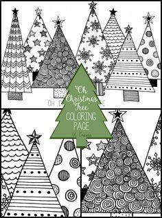 Oh Christmas Tree Coloring Page U Create Bunter Weihnachtsbaum Weihnachtsmalvorlagen Weihnachten Zeichnung