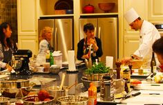 The Osthoff Resort is only an hour's drive north of Milwaukee. Foodies can enjoy the luxury resort's L'ecole de la Maison Cooking School this Spring.
