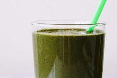 Green breakfast smoothing