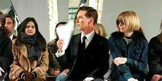 Even BC is fanning himself from the sheer hotness that he is..lols #BenedictCumberbatch