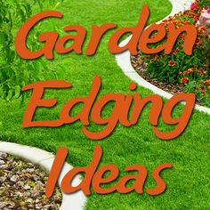 The biggest list of garden edging ideas online. This handy collection covers everything from high-end landscaping ideas to cheap and cheerful DIY projects!