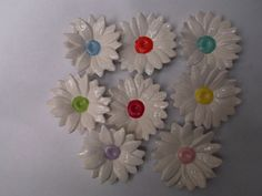 "Ceramic Daisies by Craft at Fourways  ""One of a Kind"""