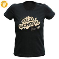 Sexy Damen T-Shirt exklusiv zum Geburtstag - Old School Since 1985 - Ein cooles Geschenk! (*Partner-Link)