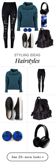 """""""Going Out"""" by lucy-wolf on Polyvore featuring Lowie, Yves Saint Laurent and Bose"""