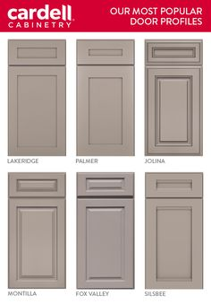 Superieur Cardell® Cabinetry Has Kitchen Cabinet Door Styles For Every Taste,  Including Shaker And Transitional