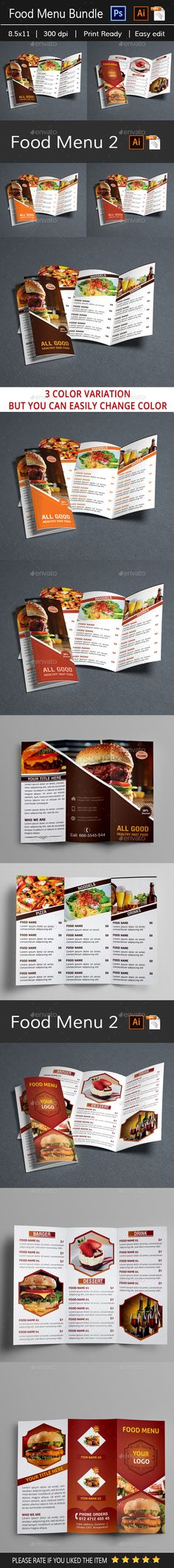 Cafe Menu Template  Lunch Menu Restaurant And Pizza Restaurant