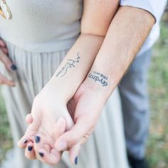 """Agape (Ancient Greek: ἀγάπη) Agape is the greek word for selfless, unconditional, sacrificial love. The kind of love that God has for humankind. Below our tattoos, Joshua and I have our wedding date written in roman numerals. . . . Our tattoos are a daily reminder to not only love each other unconditionally, but to also love the people around us the way God loves us - selflessly. Just another reminder that """"it's not about me."""" . . . : @kir2ben"""