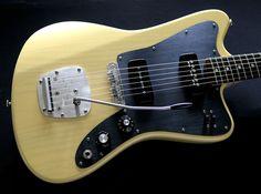 Deimel Firestar »Butterscotch Blond« w/ black anodized aluminum pickguard