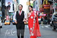Engagement session in Times Square!!