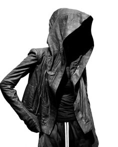Visions of the Future // RICK OWENS SS16 HOODED BIKER #rickowens