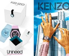Go cool or go home! Iconic watch collection  Grab your favourite Kenzo Watch at half price with Unineed!! Hurry before they all go!!