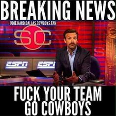 Check out all our Dallas Cowboys merchandise! Dallas Cowboys Quotes, Dallas Cowboys Pictures, Dallas Cowboys Football, Cowboys Eagles, Pittsburgh Steelers, Nfl Memes, Football Memes, Sports Memes, Football Pics