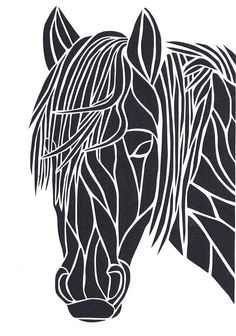 Pony Paper Cut (Other Colours Available)