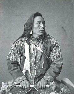 Black Plume. Blackfoot 1885