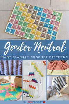 71 Gender Neutral Baby Blanket Crochet Patterns