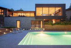 Prince Philip Residence by Thellend Fortin Architectes 01