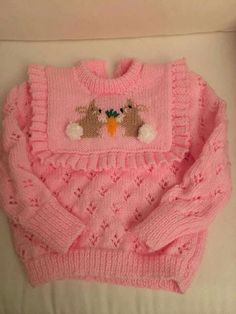 Easy Baby Knitting Patterns, Baby Cardigan Knitting Pattern Free, Baby Boy Knitting, Knitting Stitches, Hand Knitting, Crochet Patterns, Crochet Baby, Knit Crochet, Sweater Design