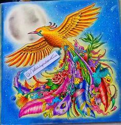 Termineeeii!! ❤❤  @kerbyrosanes #boatarde #segunda #amocolorir #animorphia #doodleainvasao #doodleinvasion #kerbyrosanes #jardimsecreto #florestaencantada #secretgarden #enchantedforest #coloredpencils #colorindo #coloringbook #coloring