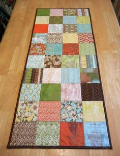 Simple table runner - Good first Quilt project.