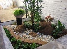 Ideas para Jardines Interiores www.ComoOrganizarLaCasa.com Ideas para organizar tu jardin interior #organizarjardininferior #comoorganizar                                                                                                                                                      Más