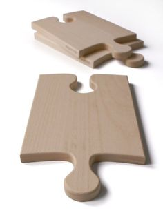 Puzzle wood board for cutting meat and bread that can be expanded