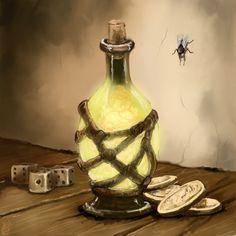 The Magic Potion by Crowsrock.deviantart.com on @DeviantArt