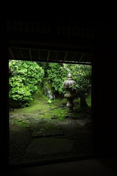 Japanese garden of Ruriko-in temple, Kyoto 瑠璃光院 京都
