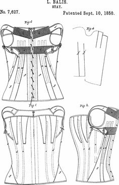 Compleate list of US patents on corsetry; http://haabet.dk/patent/USpatents.html