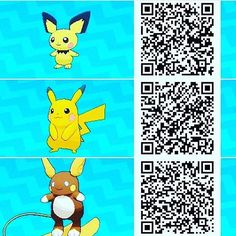 128 Best Pokémon Qr Codes Images Pokemon Moon Pikachu Code Pokemon