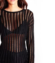 Missguided Ladder Stripe Sweater