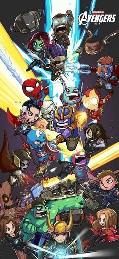 "Letter ""Ideas on the Themes"" Marvel avengers "","" Marvel universe "" - NEYLANBU Marvel Avengers, Chibi Marvel, Marvel Fan, Lego Marvel, Marvel Heroes, Avengers Superheroes, Avengers Cartoon, Thanos Marvel, Avengers Drawings"