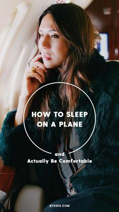 How to fall asleep on an airplane