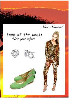 Look of the week: New year Safari Shop it on: nina-naustdal.com/shop/