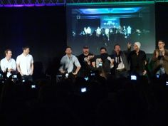Supernatural JIB Convention: Jared, Jensen, Sebastian, Misha's Resume, Richard