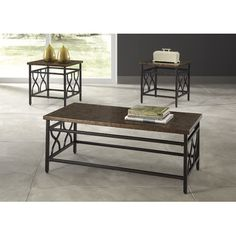 FREE SHIPPING! Shop Wayfair for Signature Design by Ashley Tippley 3 Piece Coffee Table Set - Great Deals on all Furniture products with the best selection to choose from!