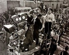 Image result for behind the scenes of spartacus kirk douglas 1960