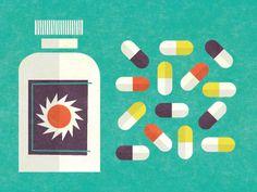 pillbox graphic #poster #brentcouchman