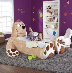 Sollten wir doch jemals ein Kind haben, bekommt es sicherlich dieses Bett!