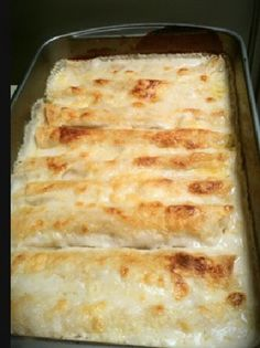 Best Chicken Enchiladas. Creamy goodness, tender, and so delicious!