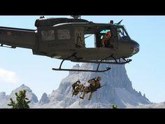 (1) Elicotteri della Folgore. - YouTube
